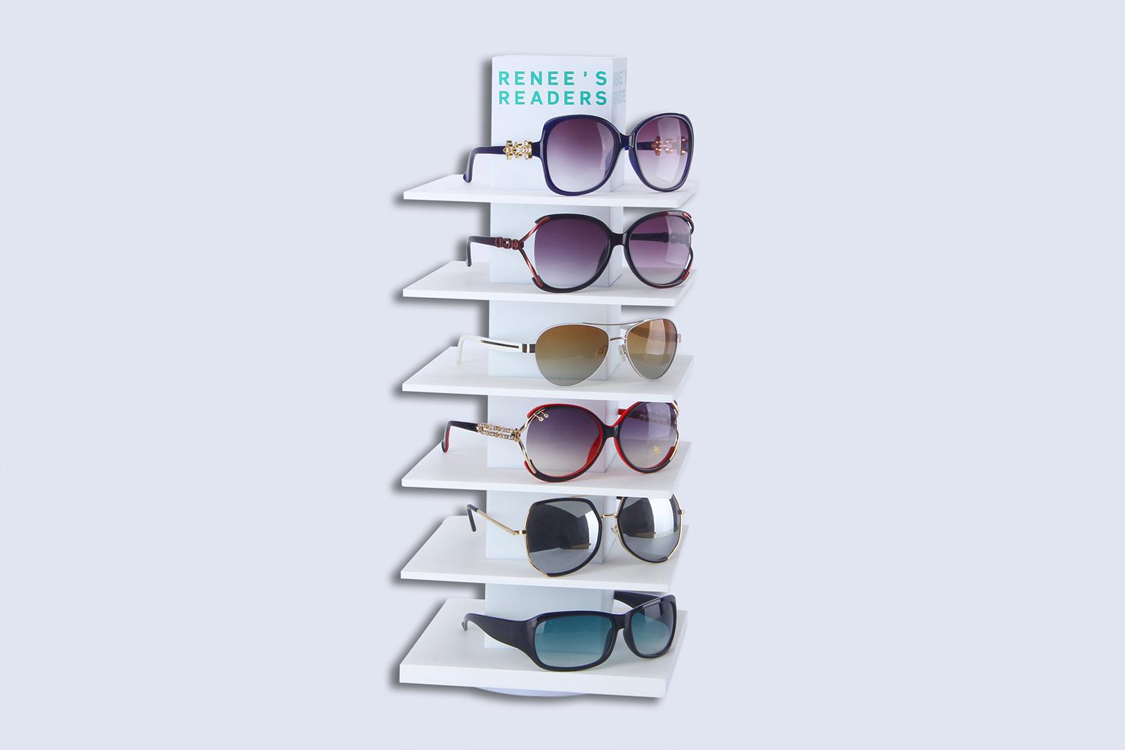 Glasses acrylic display stand