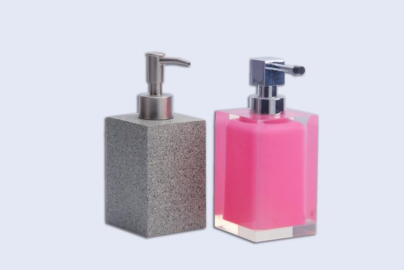 Acrylic bath bottle