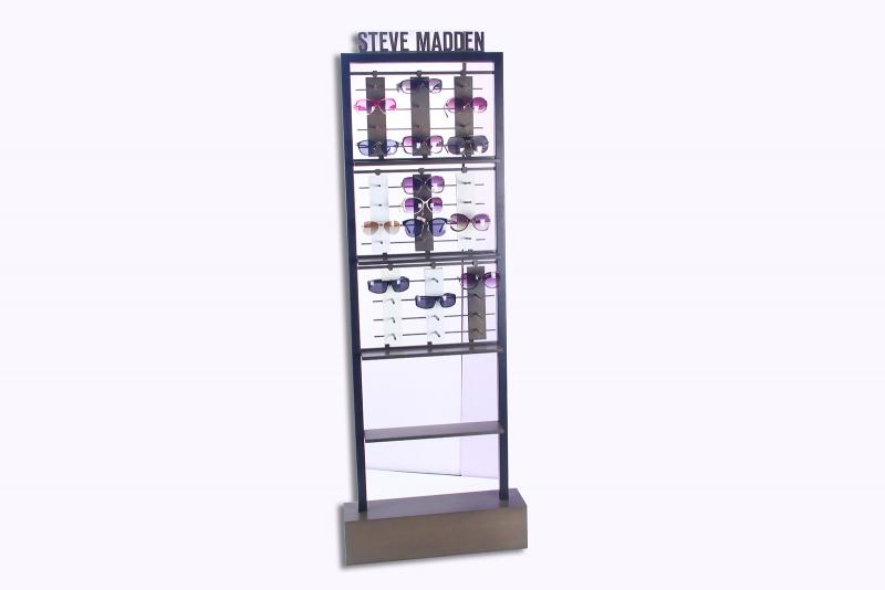 Glasses display rack