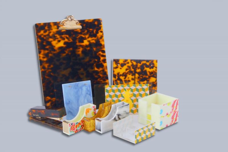 Acrylic office supplies