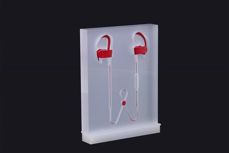 Acrylic headphone display stand