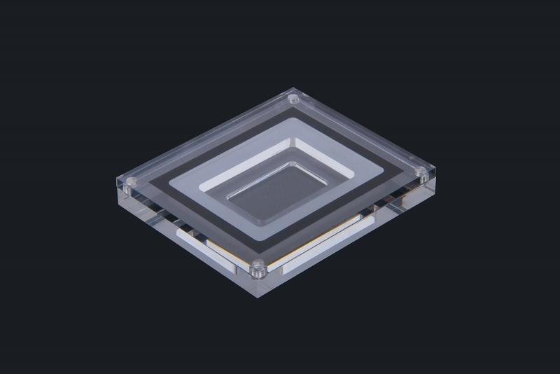 Acrylic glass coin box